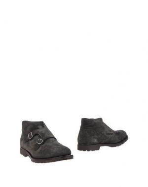 Полусапоги и высокие ботинки ANDREA VENTURA FIRENZE. Цвет: стальной серый