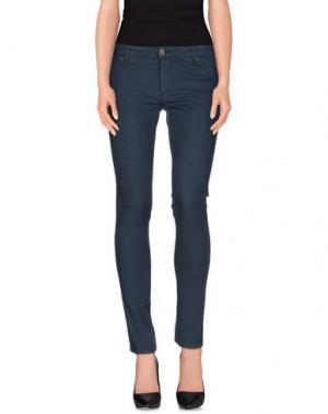 Джинсовые брюки SUPERFINE. Цвет: грифельно-синий
