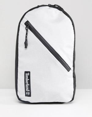Timberland Серая сумка на плечо. Цвет: серый
