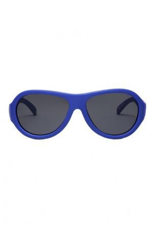 Детские очки из пластика Babiators. Цвет: синий