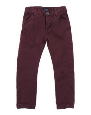 Повседневные брюки BARNUM. Цвет: баклажанный
