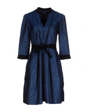 Короткое платье AXARA PARIS. Цвет: бирюзовый