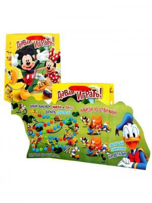Пакет-открытка Disney. Цвет: зеленый, светло-зеленый