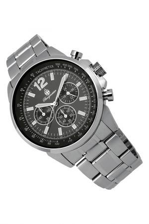 Quartz watch Burgmeister. Цвет: silver and black