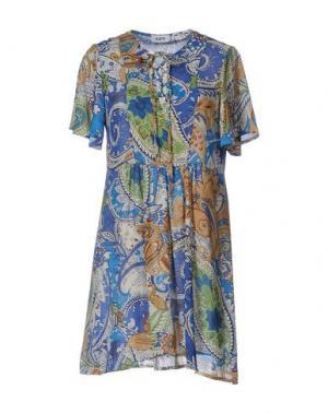 Короткое платье KATE. Цвет: синий