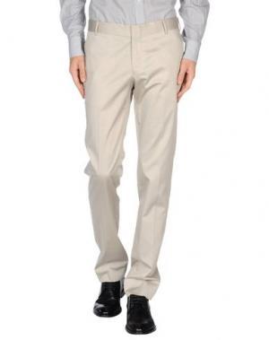 Повседневные брюки GREY DANIELE ALESSANDRINI. Цвет: светло-серый