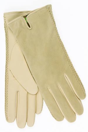 Перчатки Dali Exclusive. Цвет: бежевый