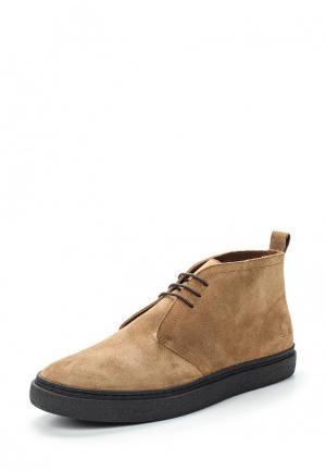Ботинки Fred Perry. Цвет: коричневый