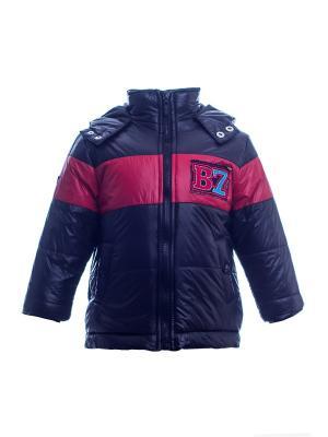 Куртка Bonito kids. Цвет: черный, красный