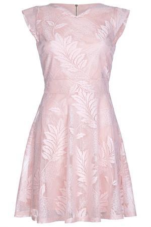 Платье Iska. Цвет: розовый
