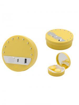 Набор для контактных линз Бант K1612-С06 Germes. Цвет: желтый