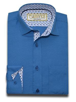 Рубашка Tsarevich. Цвет: морская волна
