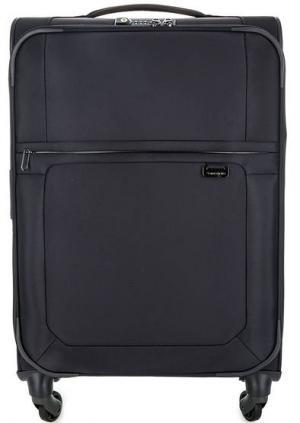Текстильный чемодан на молнии Samsonite. Цвет: синий