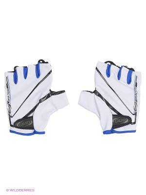 Велоперчатки BBB. Цвет: белый, черный, синий