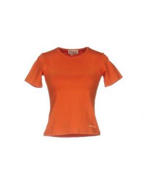 Футболка MARLBORO CLASSICS. Цвет: оранжевый