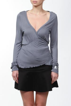 Блузка Nolita. Цвет: серый