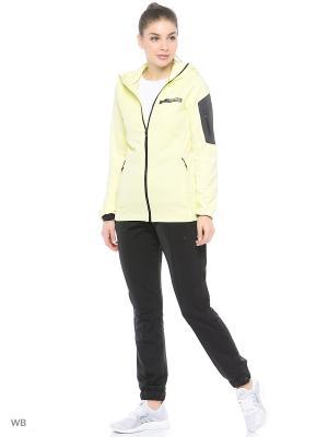 Толстовка Terrex Stockhorn Fleece Hoodie Adidas. Цвет: желтый
