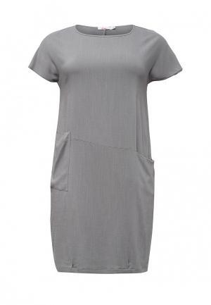 Платье Lina. Цвет: серый