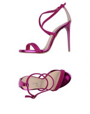 Сандалии LES TROIS GARÇONS. Цвет: розовато-лиловый