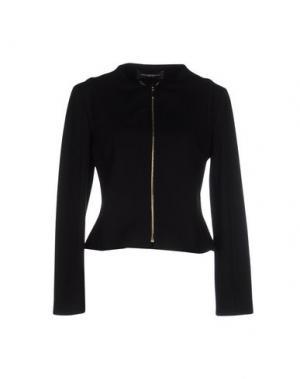Куртка CARLA MONTANARINI. Цвет: черный
