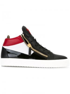 Кроссовки Jimbo Giuseppe Zanotti Design. Цвет: чёрный