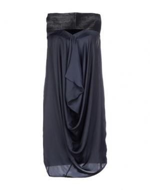 Короткое платье ZERO + MARIA CORNEJO. Цвет: черный