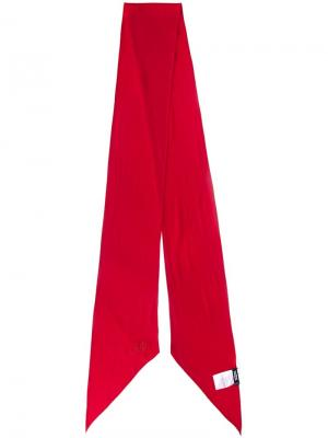 Шарф Classic Skinny Solid Rockins. Цвет: красный