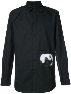 Рубашка Fantasma D.Gnak. Цвет: чёрный