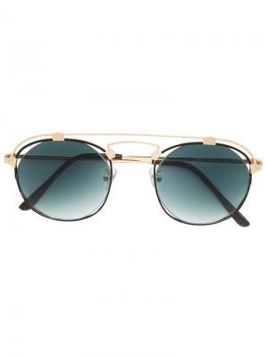 Солнцезащитные очки с круглыми линзами Spektre. Цвет: none