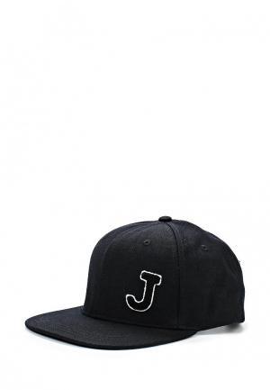 Бейсболка Jack & Jones. Цвет: черный