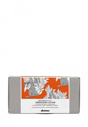Энергетический лосьон против выпадения волос Davines. Цвет: серый