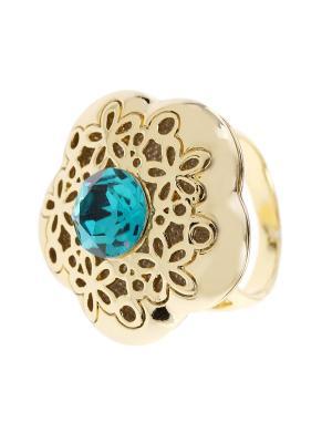 Кольцо Bijoux Land. Цвет: голубой
