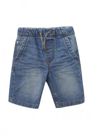 Шорты джинсовые Blukids. Цвет: синий