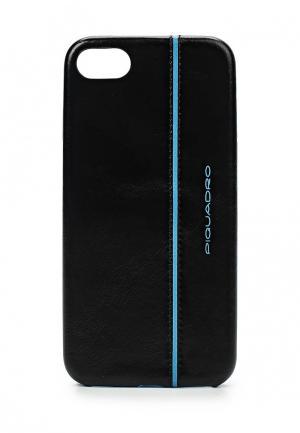 Чехол для iPhone Piquadro. Цвет: черный