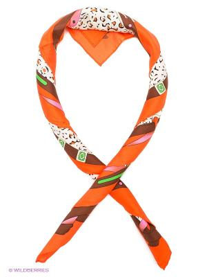 Платок Venera. Цвет: оранжевый, кремовый