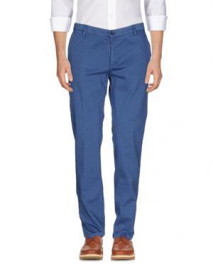 Повседневные брюки YAN SIMMON. Цвет: пастельно-синий