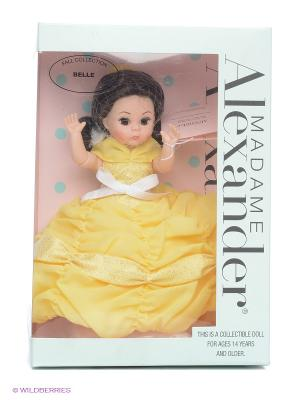 Кукла Бель, 20 см Madame Alexander. Цвет: желтый