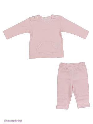 Комплект одежды United Colors of Benetton. Цвет: серый, голубой, сиреневый, бледно-розовый
