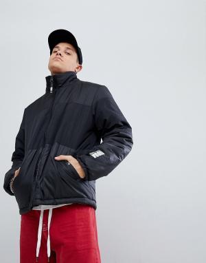 Christopher Shannon Черная дутая куртка Kidda By. Цвет: черный