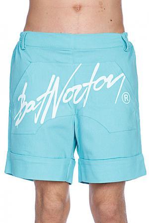 Шорты  Unisex Basic Shorts Turquoise Bat Norton. Цвет: голубой