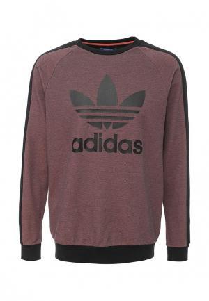 Свитшот adidas Originals. Цвет: бордовый