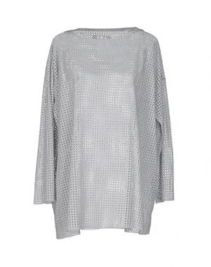Блузка LABO.ART. Цвет: серый