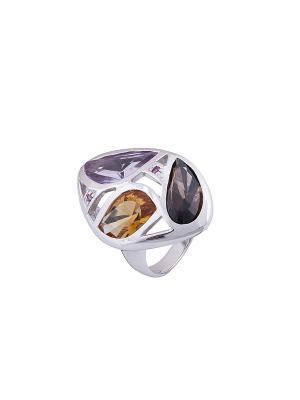 Кольцо Мастер Клио. Цвет: серебристый, фиолетовый, розовый, золотистый, коричневый