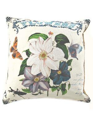 Декоративная подушка 45х45 La Pastel. Цвет: бежевый, розовый, голубой