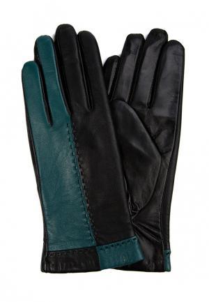 Перчатки Marco Bonne`. Цвет: бирюзовый