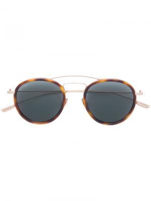 Солнцезащитные очки Rodi Kiton. Цвет: коричневый