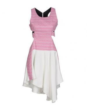Платье до колена JAY AHR. Цвет: светло-фиолетовый