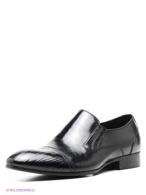 Туфли WASCO. Цвет: черный