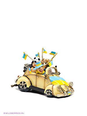 Машина Ukraine Fan-Attics The Comical World of Stratford. Цвет: желтый, голубой