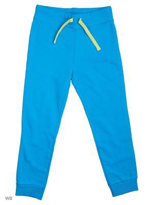 Брюки United Colors of Benetton. Цвет: голубой, коричневый